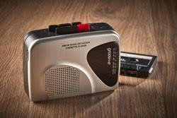 Portable Cassette Recorder