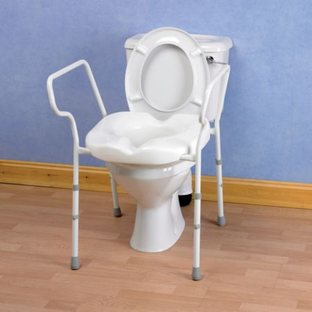 Tremendous Deluxe Stirling Elite Toilet Frame Living Made Easy Pabps2019 Chair Design Images Pabps2019Com