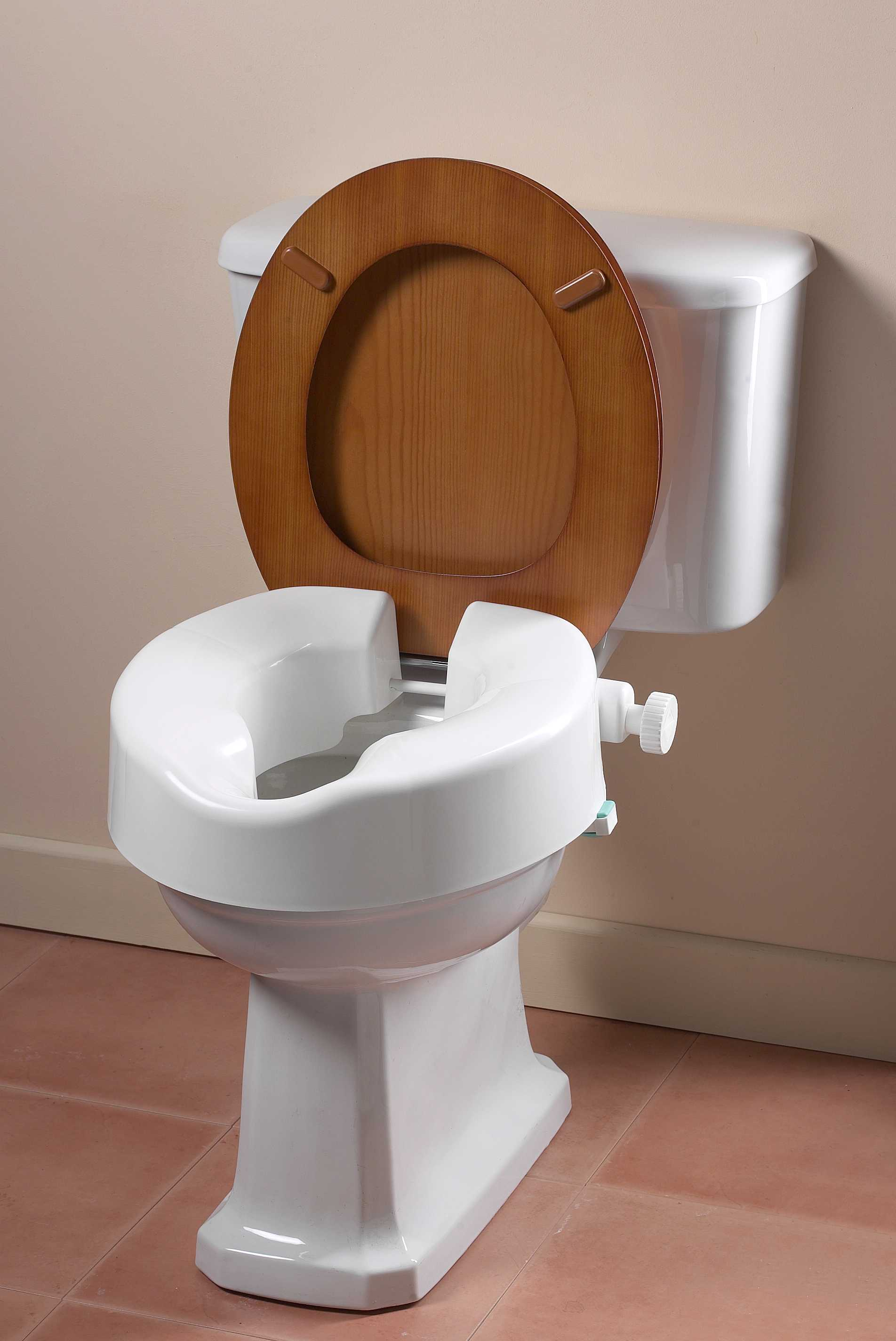 Uni-fix Raised Toilet Seat - Living made easy