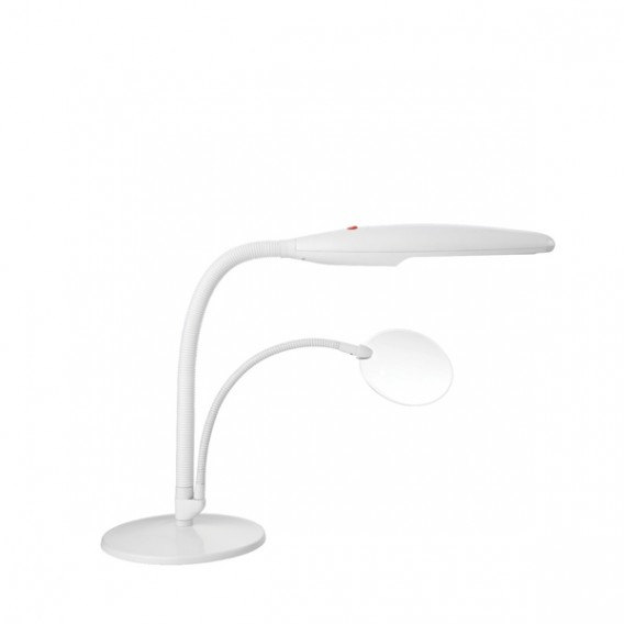 Swan Table Lamp With Magnifier