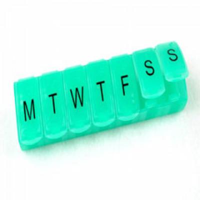 7 Day Mini Pill Box 1