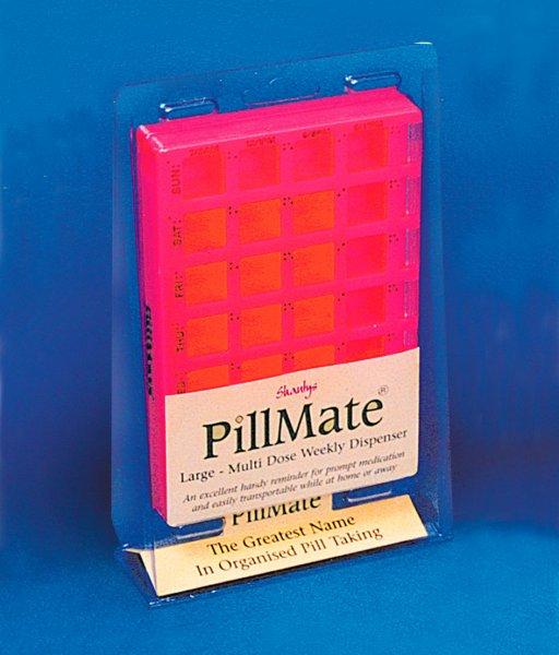 Weekly Multi Dose Pill Box