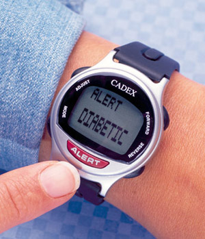 Cadex Medication Reminder and Medical Alert Watch 2