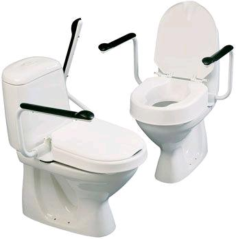 Hi-loo Fixed Raised Toilet Seat