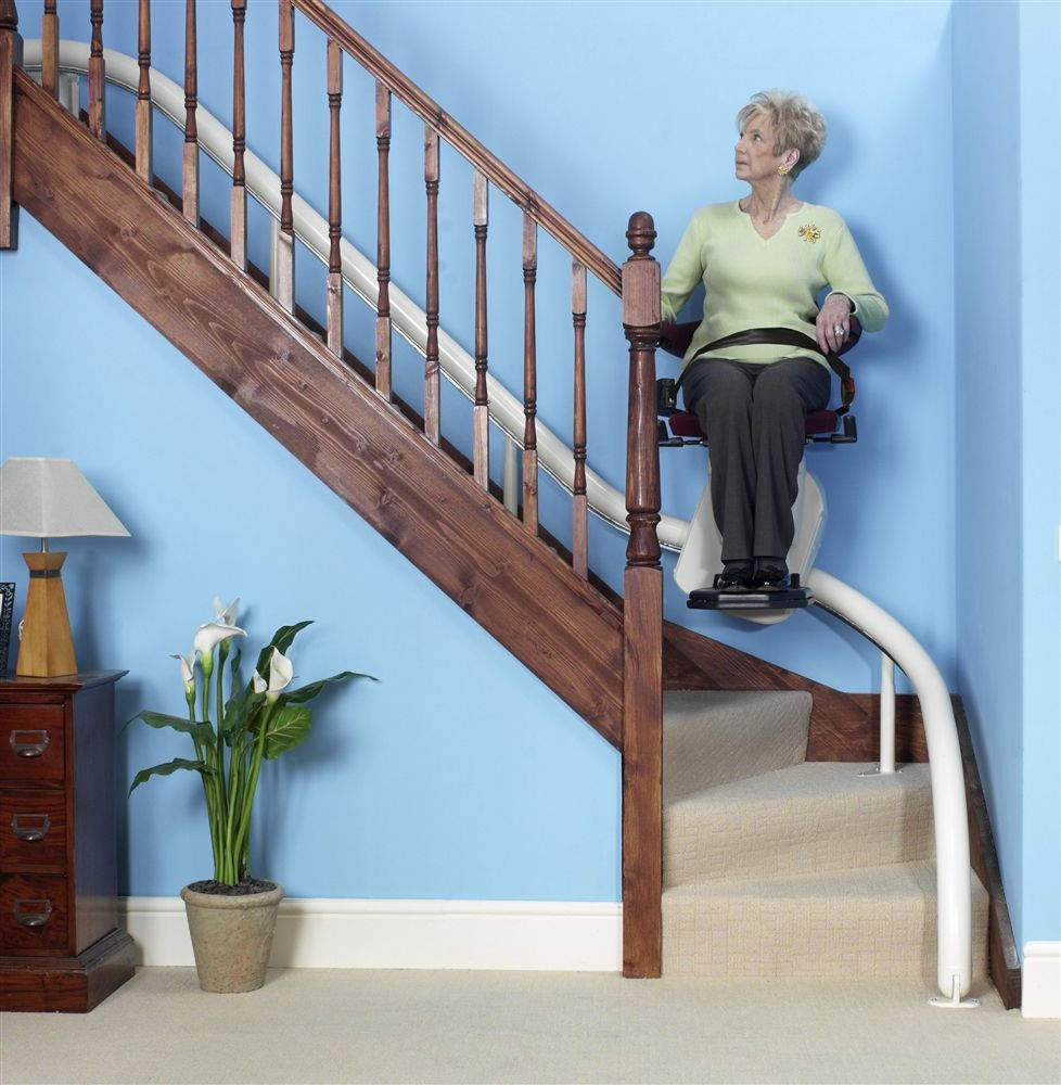 Freelift Van Gogh Curved Stairlift