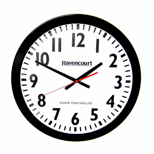 Easy To See Radio Controlled Wall Clock Living Made Easy