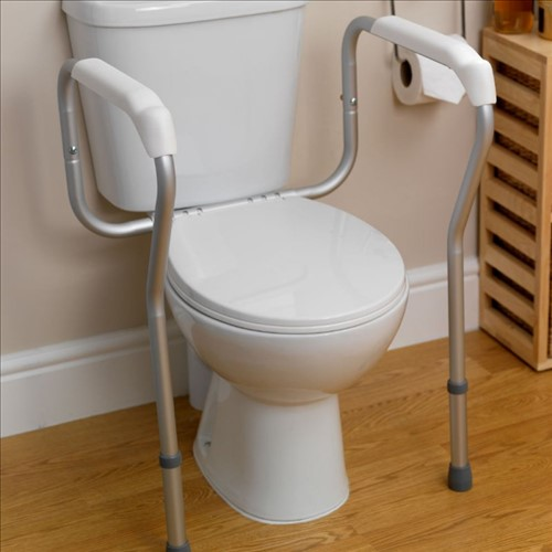Toilet Surround Rail Safety Frame