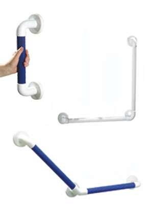 Akw 1400 Series Large Plastic Fluted Grab Rails & Kits 1