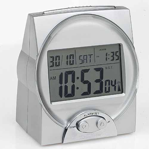 Radio Controlled Talking Calendar Clock