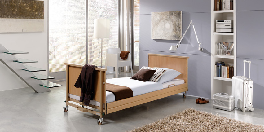 Dali Extra Low Electric Profiling Nursing Bed Living