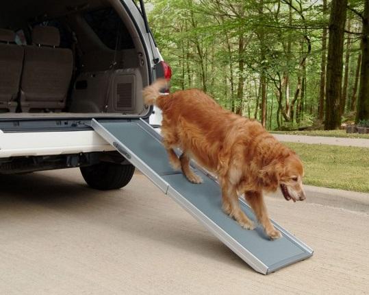 Deluxe Telescopic Dog Ramp 1