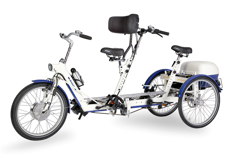 Draisin Duo Tandem Tricycle Living Made Easy