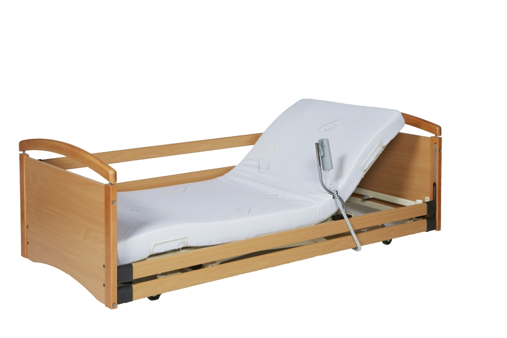 Solace 382 Ultra Low Height Adjustable Profiling Bed