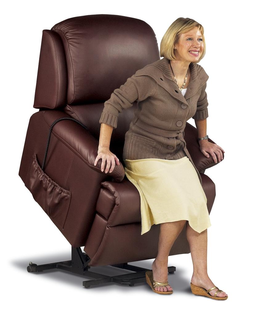 lisbon single motor riser recliner chair living made easy