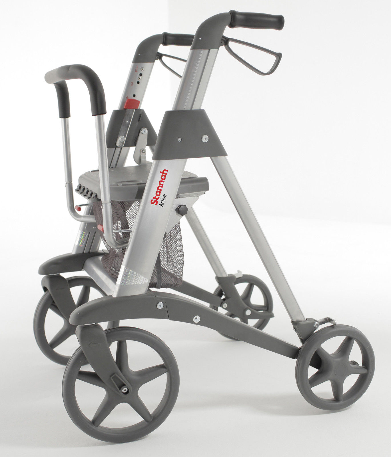 Access Active 4 Wheeled Walker Rollator 1