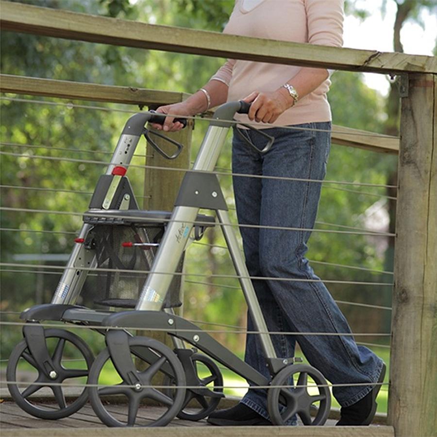 Access Active 4 Wheeled Walker Rollator 2