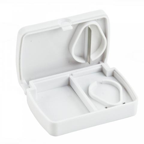 Pill Storage Box with Cutter 2