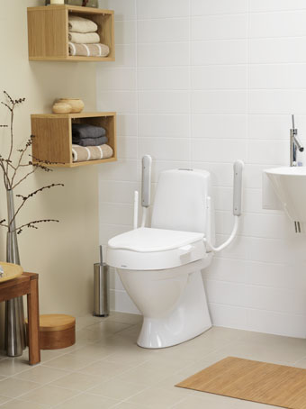 Peachy Etac Cloo Toilet Seat Raiser Living Made Easy Theyellowbook Wood Chair Design Ideas Theyellowbookinfo