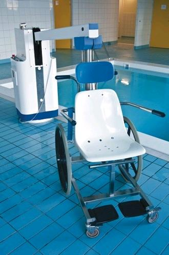 Pool hoist living made easy for Swimming pool lifting out of ground