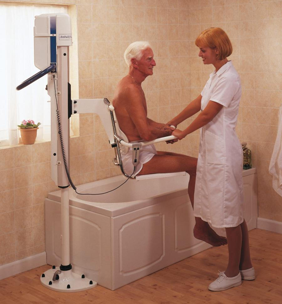Bath Lift Chairs For Disabled : Arjo ambulift