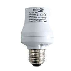 Remote Control Bulb Holder With Screw Bulb Fixing