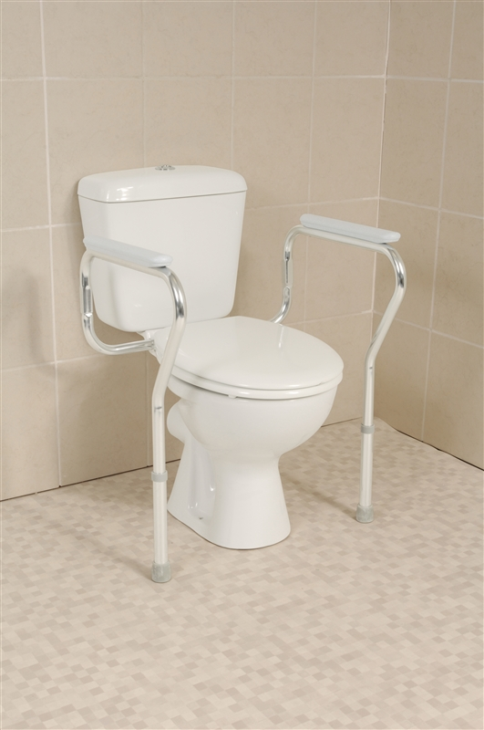 pan fitted toilet frame