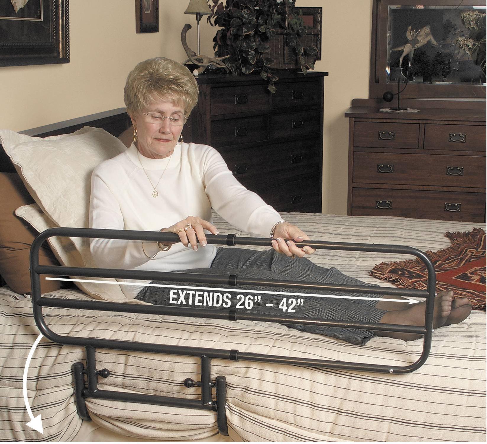 Ez Adjustable Bed Rail Living Made Easy