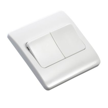 Mk 2-way Double Light Switch 1