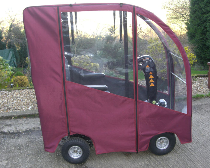 & Deluxe Mobility Scooter Canopy