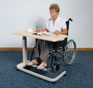 Heavy Duty Over Bed chair Table Living made easy