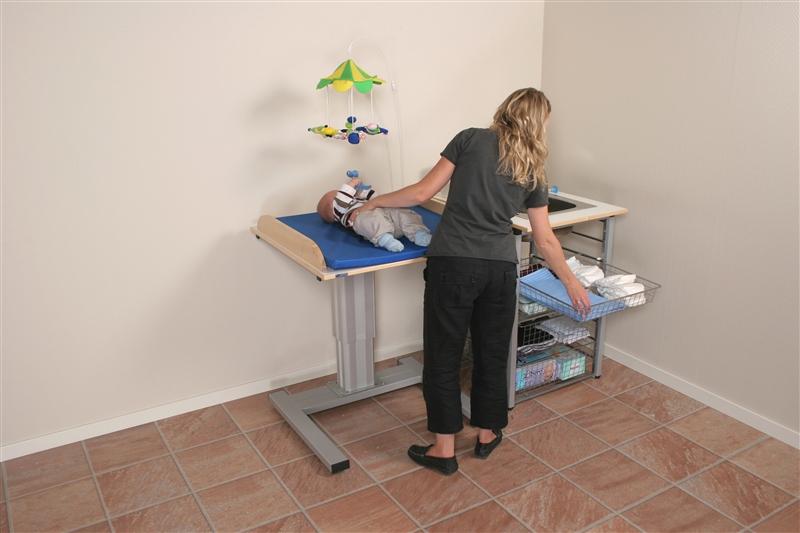Granberg Freestanding Height Adjustable Nursing Table 330