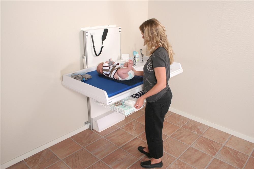 Granberg Wall Mounted Nursing Table 334 Series Living