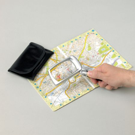 Folding Led Magnifying Glass