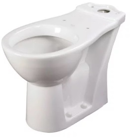 Akw 460 Raised Height Close Coupled Toilet Pan Living