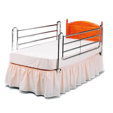 Extra High Chrome Bed Rails 1