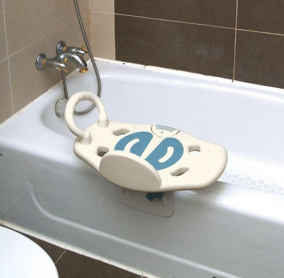 Bath Swivel Seat With Grab Bar