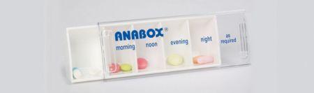 Anabox Pill Organiser 1
