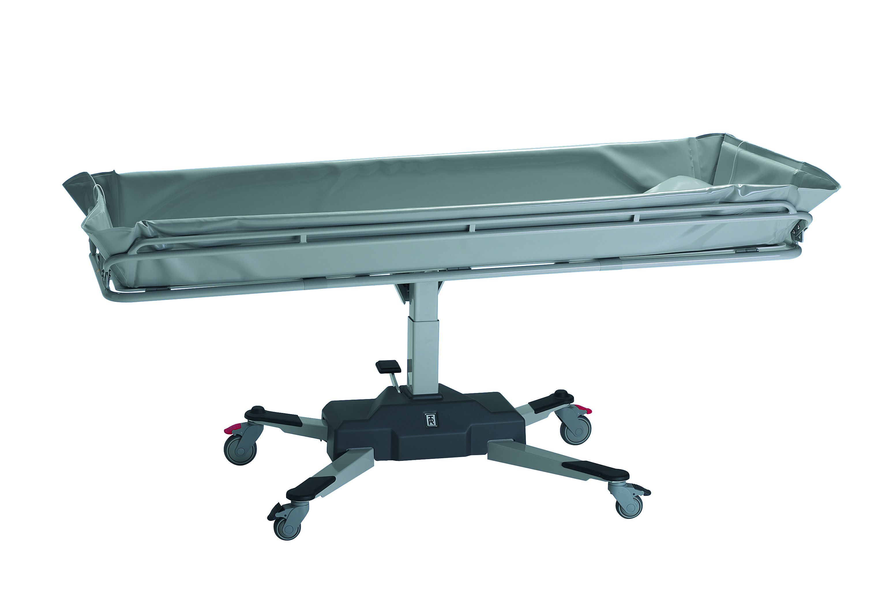 amilake productcats shower solutions stretchers electric amfora trolley ltd douchebrancard southern lopital