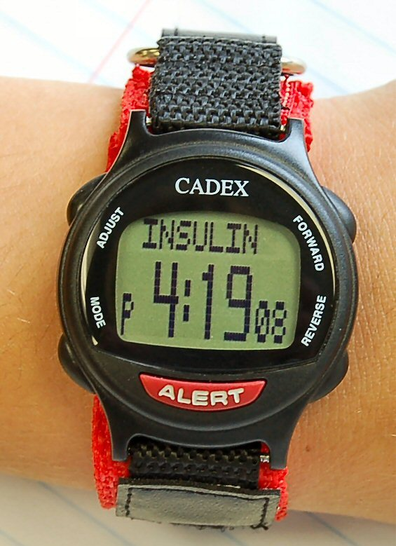 Cadex Paediatric Watch