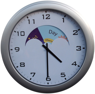 Day And Night Clock 4