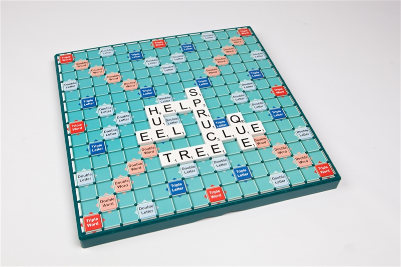 Large print scrabble living made easy for Large letter scrabble game