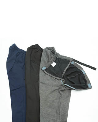 Inner Opening Jersey Drop Front Wheelchair Trousers 2