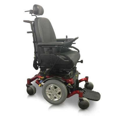 silla de ruedas electrica quantum 600