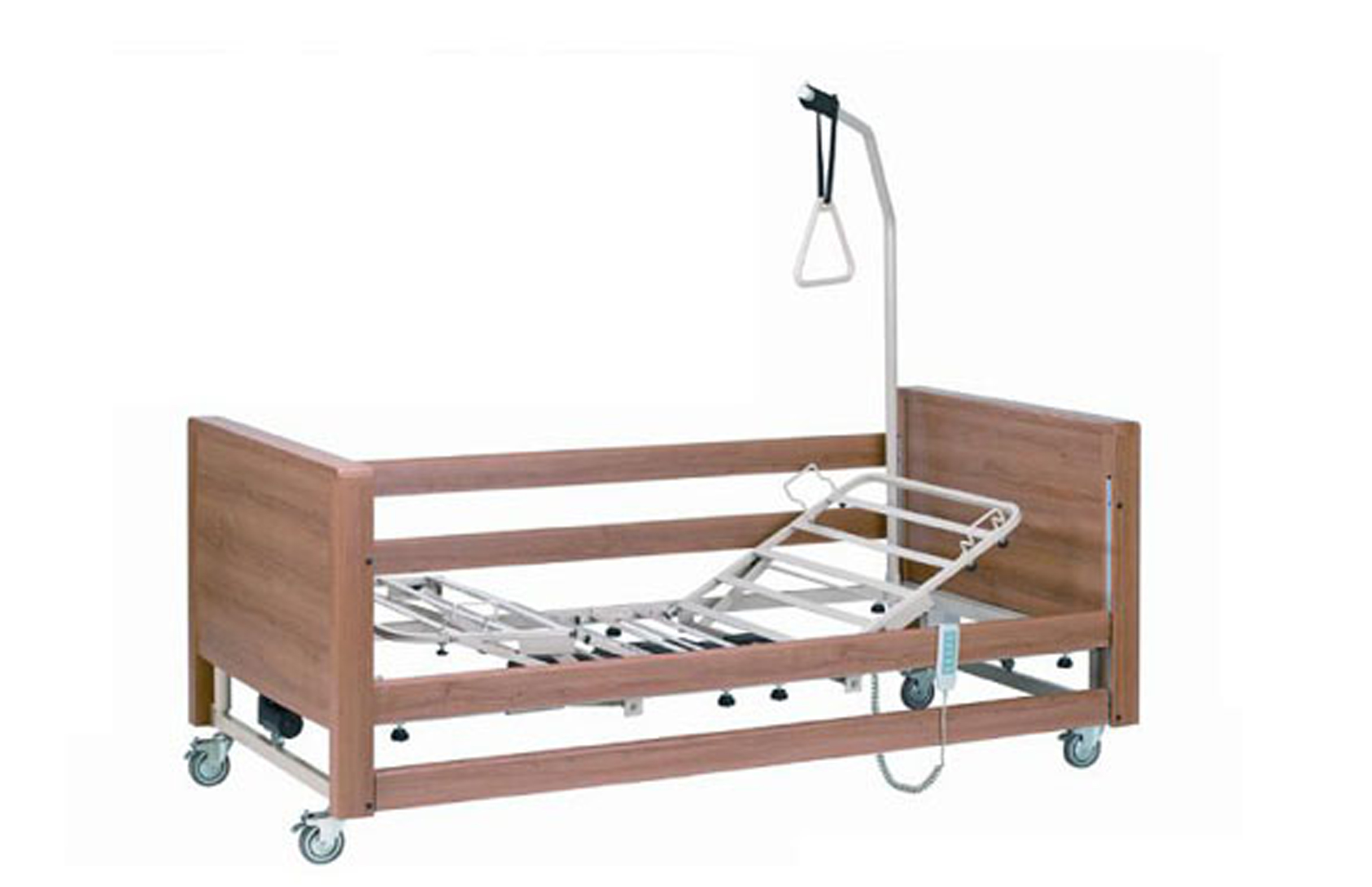 parkhouse hetton profiling hospital bed with side rails living made easy. Black Bedroom Furniture Sets. Home Design Ideas