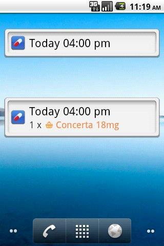Pills On The Go Pill Reminder App 1