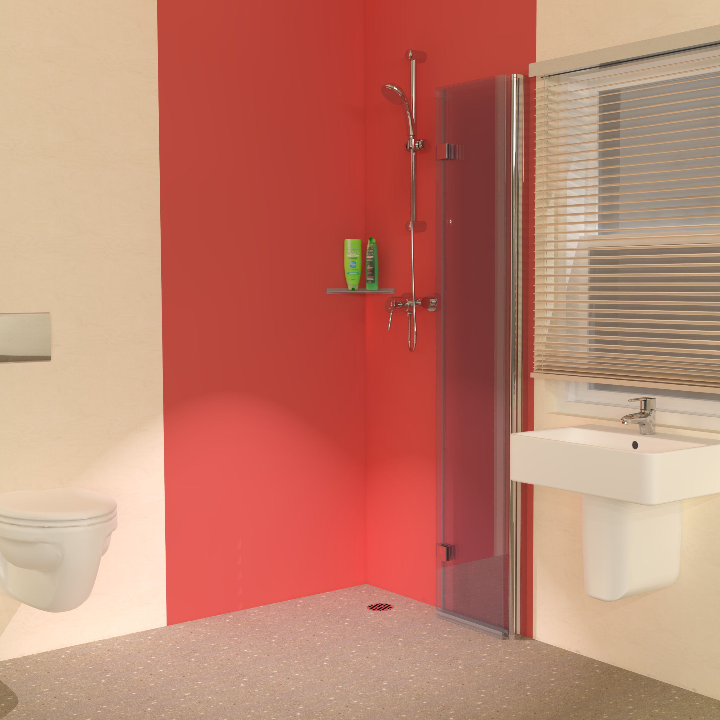 Foldaway Wet Room Shower Screens 3