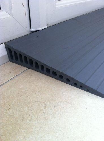 EASTIN - Rubber Wedge Door Threshold Ramp - Access Needs