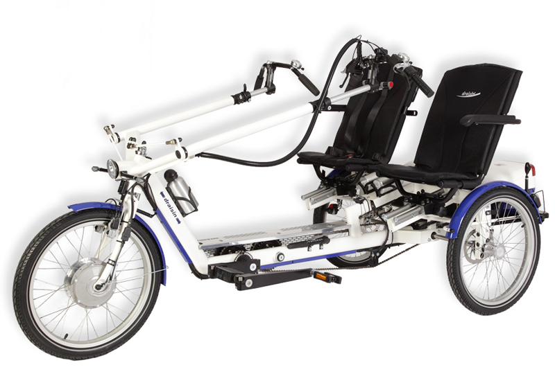 Draisin Twister Side by Side Tandem Tricycle