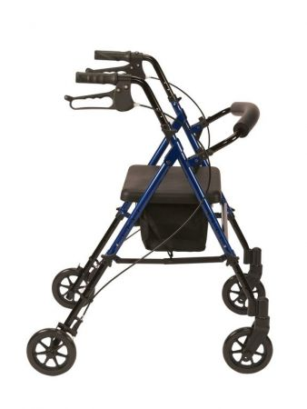 Adjustable Seat Height Rollator 2
