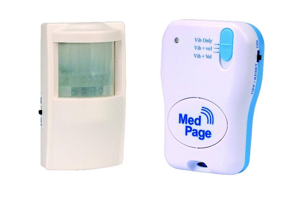 Movement Pir Sensor With Alarm Pager
